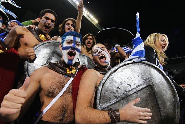 ギリシャ悲劇のようなサポーター