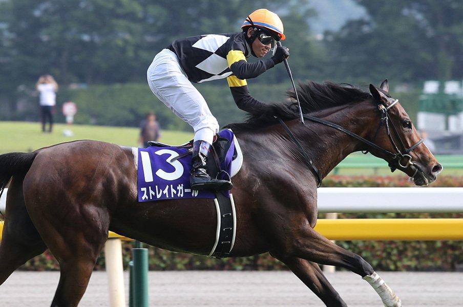 絶対能力、ハイペース、戸崎の騎乗。ストレイトガール連覇の背景を探る。<Number Web> photograph by Yuji Takahashi