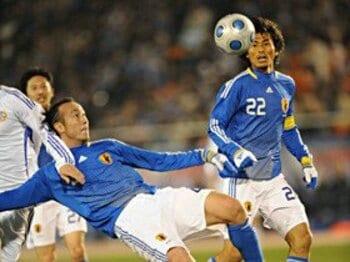 キリンチャレンジカップ2009 VS. フィンランド<Number Web> photograph by Naoya Sanuki