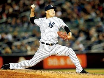 速球の平均球速が151km。ヤンキース田中の完全復活。~右肘、手首の不安を払拭して~<Number Web> photograph by Yukihito Taguchi
