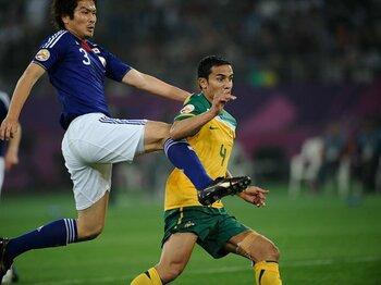 アジア杯の宿敵に大問題発生中。さらば老兵、オーストラリアよ!<Number Web> photograph by Takuya Sugiyama