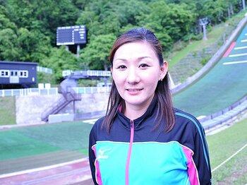 女子ジャンプの先駆者、山田いずみ。母として挑む、初の女性コーチ。<Number Web> photograph by Shino Seki