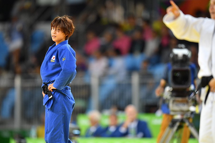 「海外で弱い」元世界女王が流した涙。柔道・近藤亜美、銅獲得からの再出発。<Number Web> photograph by JMPA