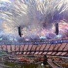花火が鮮やかに競技場を包む。~ロンドン五輪2012~