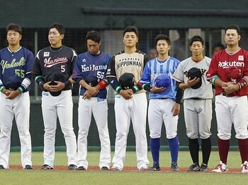 プロ野球界に大量世代交代の兆し……。清宮を筆頭に恐るべき若手が成長中!<Number Web> photograph by Kyodo News