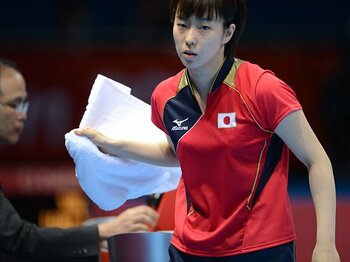 石川佳純は強くなって帰ってくる……。ロンドンで捉えた中国卓球界の背中。<Number Web> photograph by Asami Enomoto/JMPA