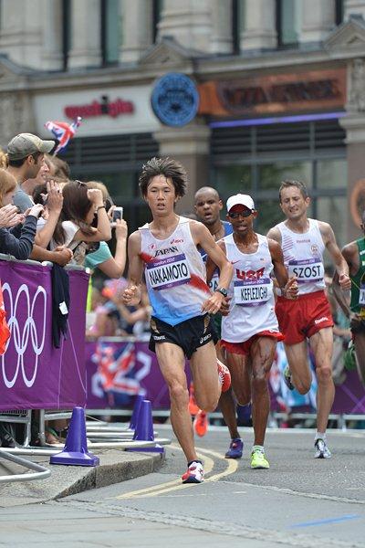 男子マラソン、中本が粘って6位入賞。~ロンドン五輪2012~