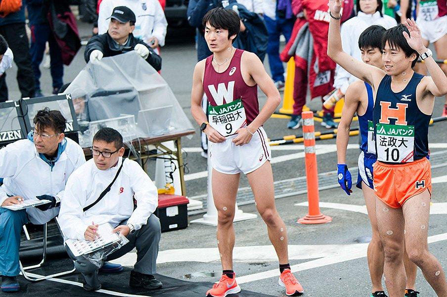 伝統の「W」は復調するか?早稲田大学の最強ルーキーが照らす未来とは。<Number Web> photograph by Shunsuke Mizukami