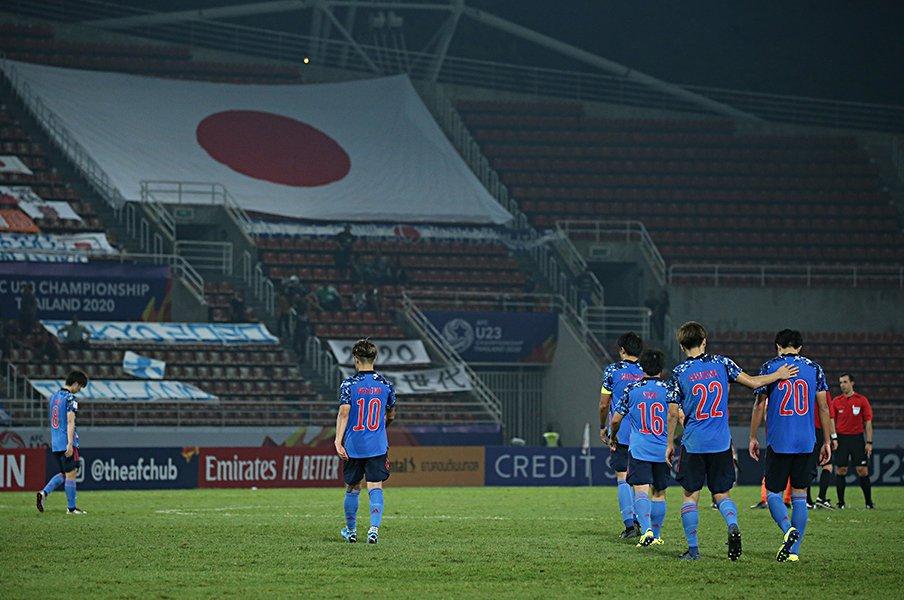 1つのミスでサッカー人生は変わる。サウジ戦終盤、共通認識はあったか。<Number Web> photograph by JFA/AFLO
