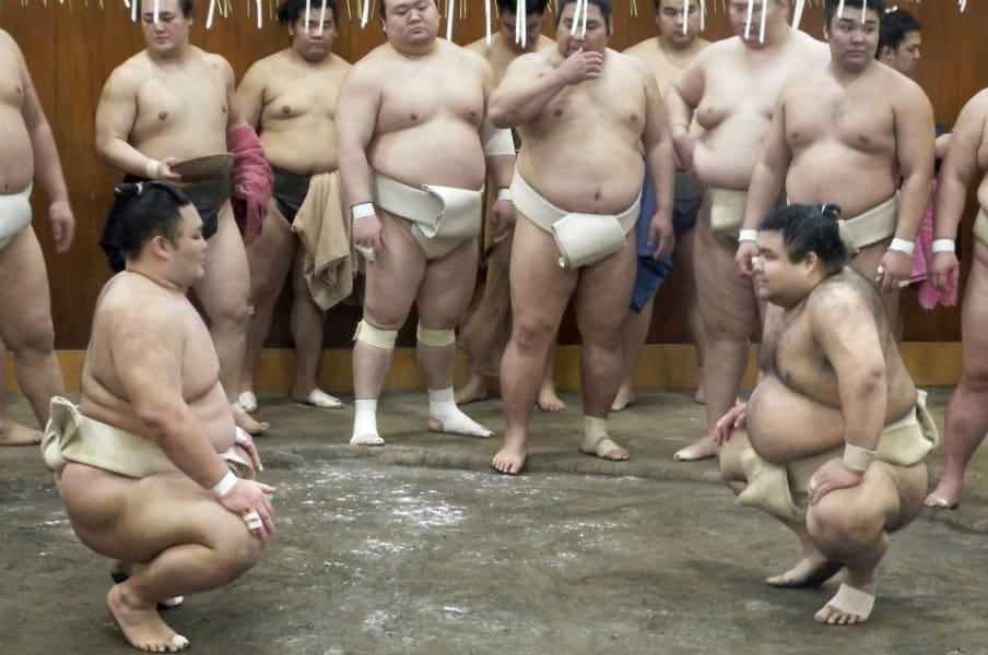 大相撲初場所の見どころは?高き壁・白鵬に朝乃山、高安ら挑む。<Number Web> photograph by Kyodo News