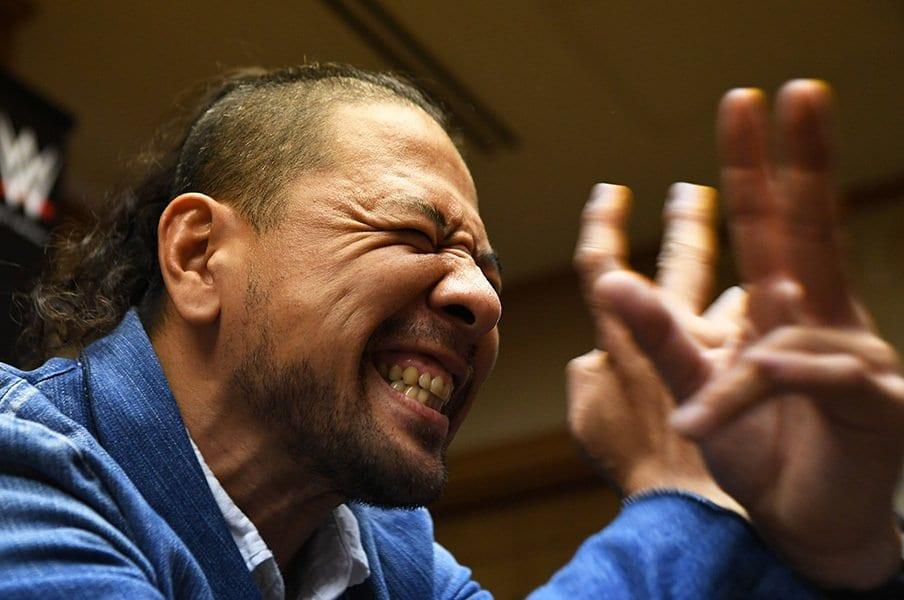 """もっとスーパースターになってやる。""""次期WWE王者""""中邑真輔の新世界。<Number Web> photograph by Essei Hara"""