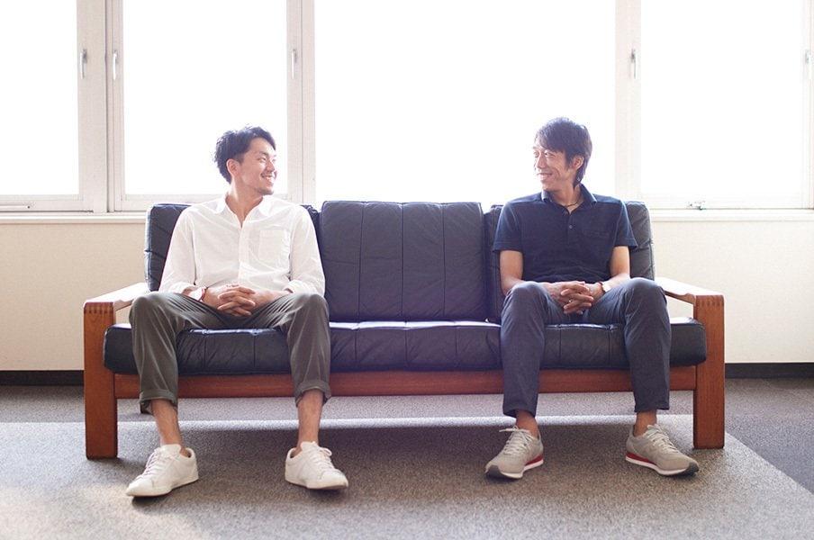 中村憲剛と篠山竜青の川崎対談!JとB、2つのリーグは互いの事を……。<Number Web> photograph by Atsushi Hashimoto