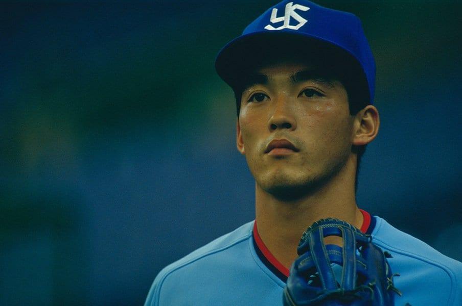"""""""最も有名なスーパースターの息子""""長嶋一茂の壮絶な野球人生を読む。<Number Web> photograph by Makoto Kenmizaki"""