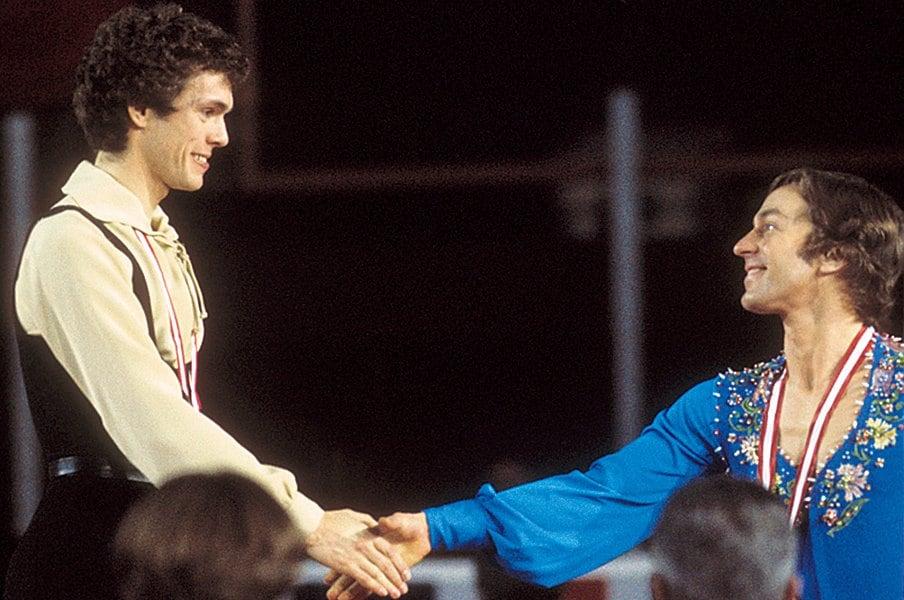 フィギュアで芸術的探求を。カリーとクランストンと羽生。~男性が美しく踊る、ということ~<Number Web> photograph by Getty Images