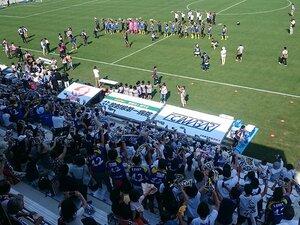 FC今治新スタジアムはこだわり満載!岡田オーナーは自分の足で確かめる。