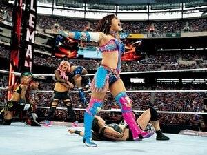 <WWEのニューヒロイン>カイリ・セイン「天国に誓うベルト」