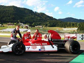 11年ぶりに復活したオーストリアGP。マルコとラウダが夢の「競演」。<Number Web> photograph by Getty Images