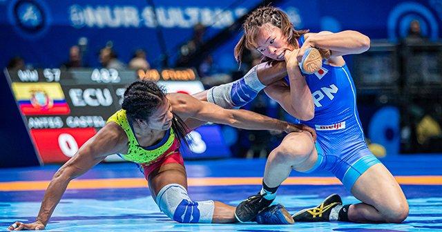 「私はオリンピックのためにレスリングをやっている」 57kg級世界女王・川井梨紗子の苦しい胸中