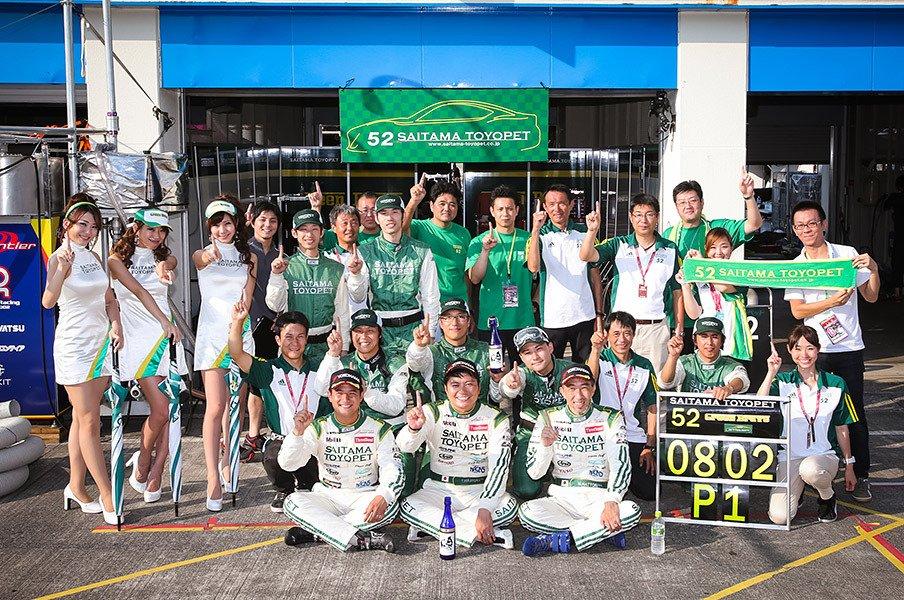 参加型レースの最高峰「スーパー耐久」。首位に立つ埼玉トヨペットの挑戦!<Number Web> photograph by SAITAMA TOYOPET