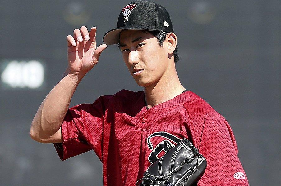 吉川峻平はなぜMLBへ直行したか。「10年後をイメージして決断した」<Number Web> photograph by Kyodo News