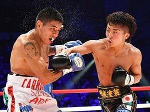 壊れた右拳でKOを狙う余裕のV2。井上尚弥、ロマゴン以外は問題外?