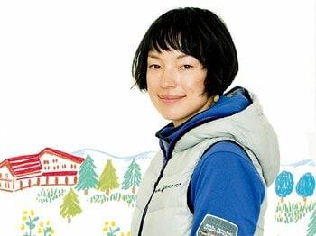 <元祖・山ガールの「山」論> KIKI 「頑張らないと楽しい」<Number Web> photograph by Tamon Matsuzono