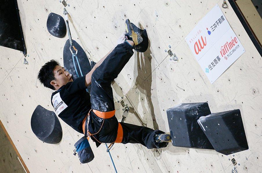 ボルダリングとはちがう難しさを実感。リードの奥深さと日本人選手の可能性。<Number Web> photograph by Shigeki Yamamoto