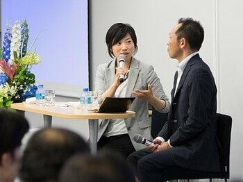 <公開セミナー特別レポート3>ファンがファンを呼ぶ、また行きたい。千葉ロッテが目指す顧客満足とは?<Number Web> photograph by Asami Enomoto