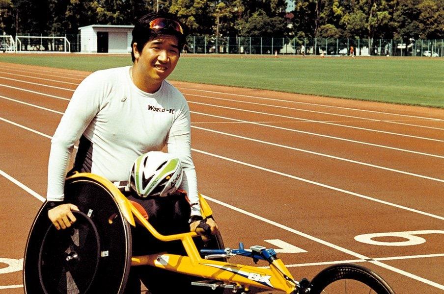 車いす陸上界のエース・佐藤友祈。「東京で金メダルを手にできれば」<Number Web> photograph by Naohiro Kurashina