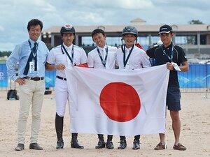 馬術の世界選手権でメダルに肉薄!「日本もいるぞと存在感を示せた」