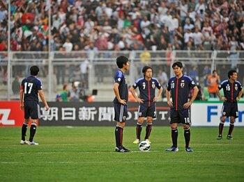 """日本代表「決定力不足論」への疑問。~福西崇史が""""悲観的でない""""理由~ <Number Web> photograph by Takuya Sugiyama"""