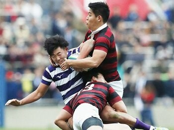早明戦は日本ラグビーの「宝」だ。伝統のスタイルを乗り越えて進め。<Number Web> photograph by Kyodo News